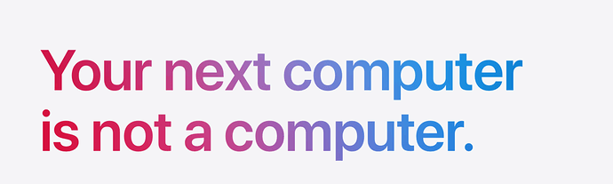 color gradient to text