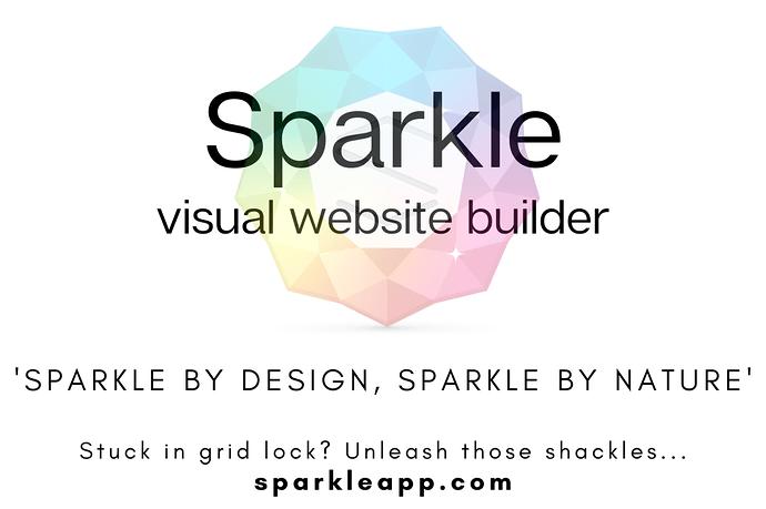Sparkle visual web design 3