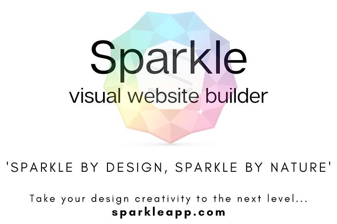 Sparkle visual web design 4
