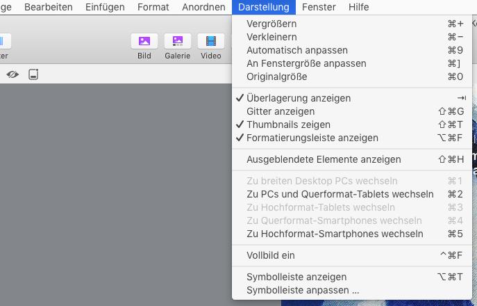 menu_VIEW:Darstellung